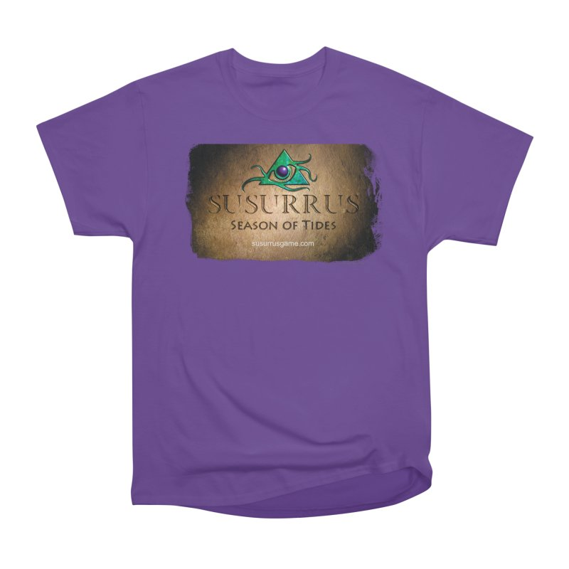 Susurrus Stone Logo Men's Heavyweight T-Shirt by Evil Overlord Games - The Shop!