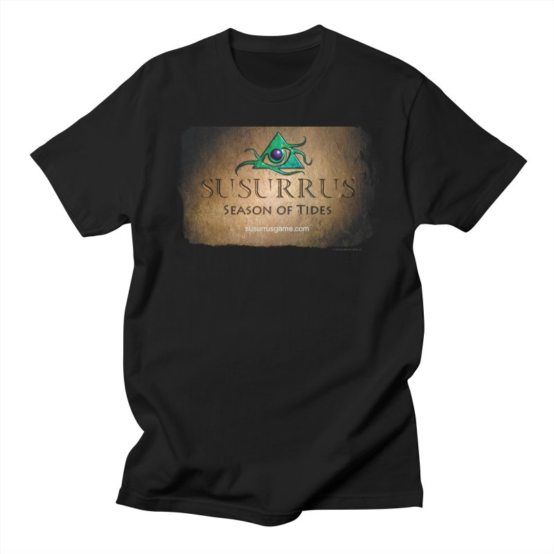 Susurrus Stone Logo in Men's Regular T-Shirt Black by Evil Overlord Games - The Shop!