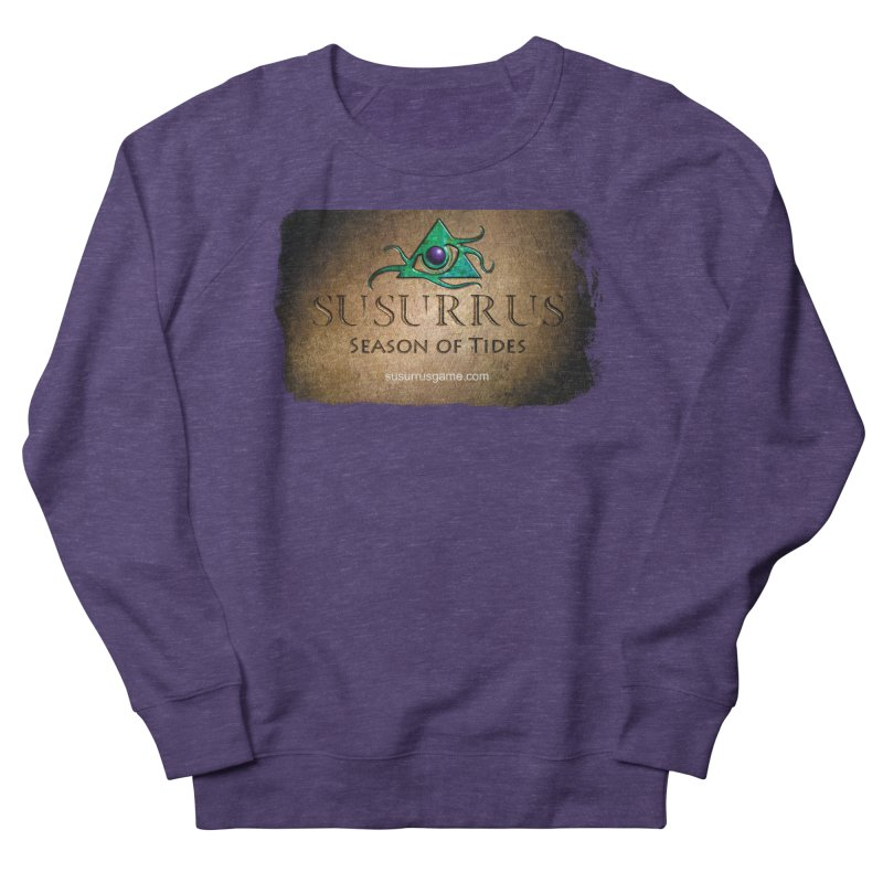 Susurrus Stone Logo Women's French Terry Sweatshirt by Evil Overlord Games - The Shop!