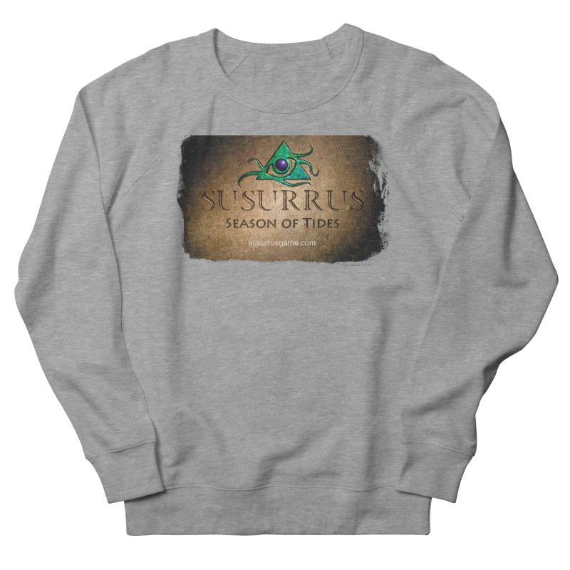 Susurrus Stone Logo Men's French Terry Sweatshirt by Evil Overlord Games - The Shop!
