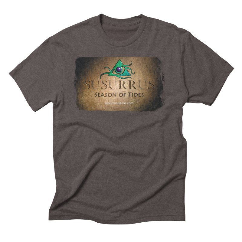Susurrus Stone Logo Men's Triblend T-Shirt by Evil Overlord Games - The Shop!