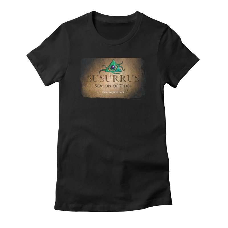 Susurrus Stone Logo Women's Fitted T-Shirt by Evil Overlord Games - The Shop!