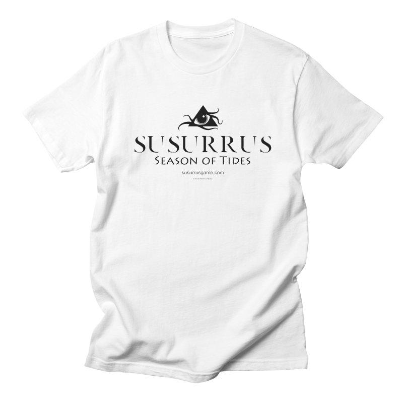Susurrus logo - dark Men's Regular T-Shirt by Evil Overlord Games - The Shop!
