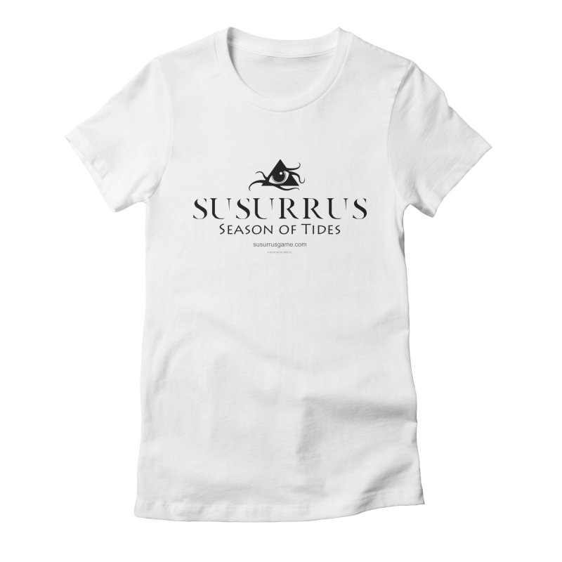 Susurrus logo - dark Women's Fitted T-Shirt by Evil Overlord Games - The Shop!