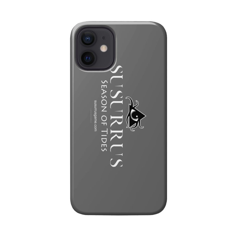 Susurrus Logo - Light Accessories Phone Case by Evil Overlord Games - The Shop!