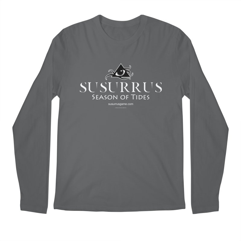 Susurrus Logo - Light Men's Longsleeve T-Shirt by Evil Overlord Games - The Shop!