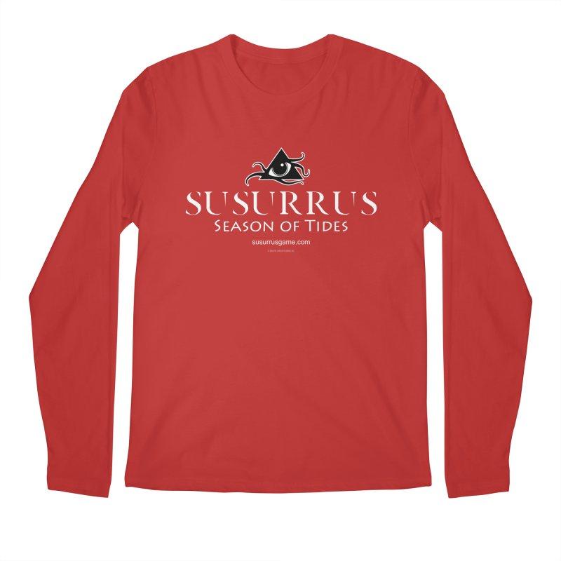 Susurrus Logo - Light Men's Regular Longsleeve T-Shirt by Evil Overlord Games - The Shop!