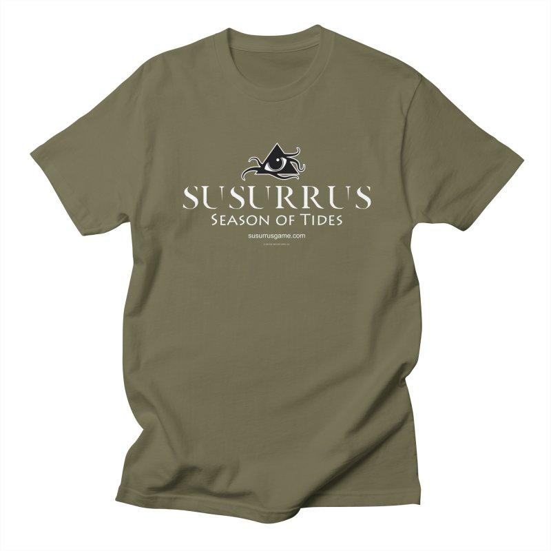 Susurrus Logo - Light Men's T-Shirt by Evil Overlord Games - The Shop!