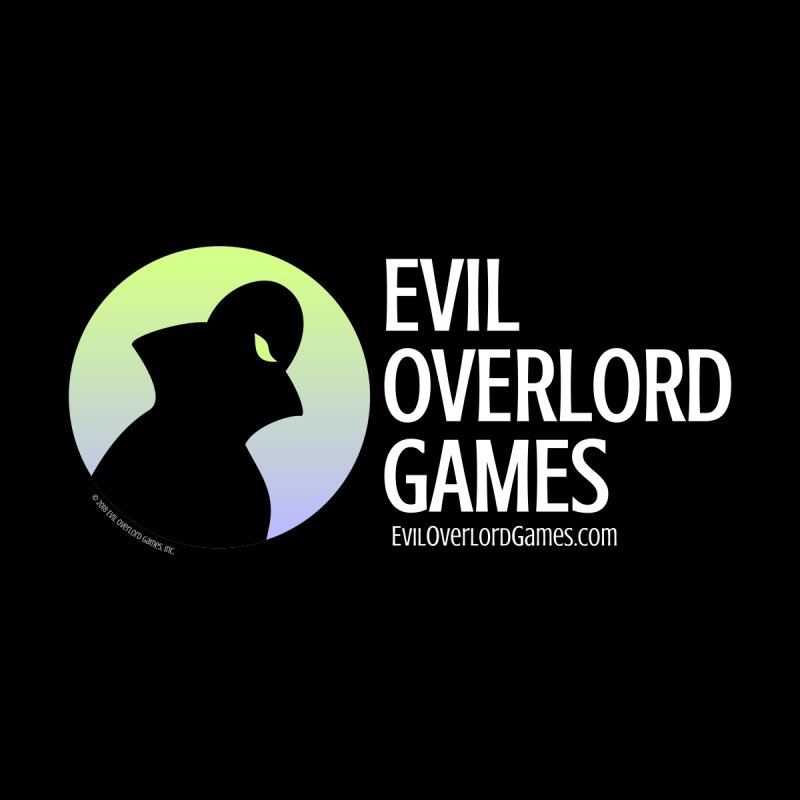Evil Overlord logo - light Men's V-Neck by Evil Overlord Games - The Shop!