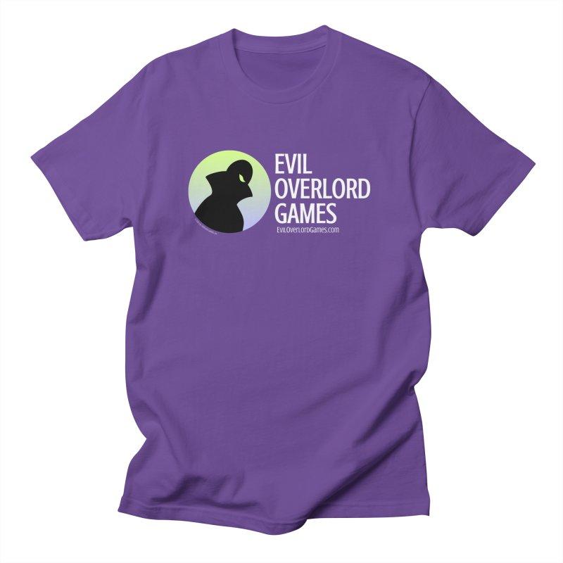 Evil Overlord logo - light Women's Regular Unisex T-Shirt by Evil Overlord Games - The Shop!