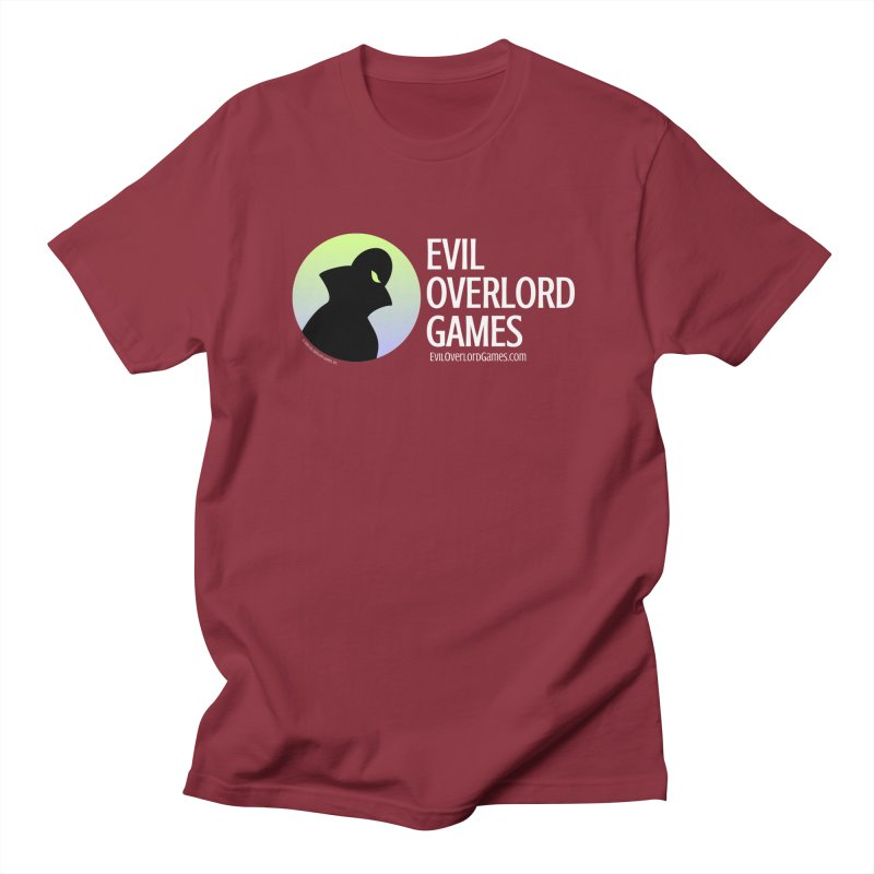 Evil Overlord logo - light Men's Regular T-Shirt by Evil Overlord Games - The Shop!