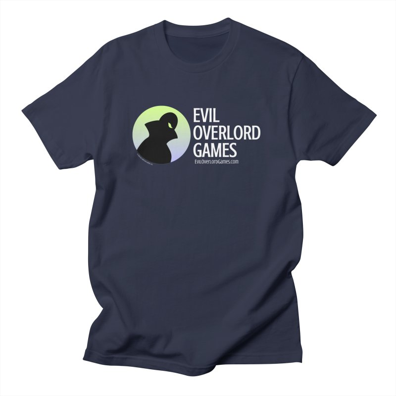 Evil Overlord logo - light Women's Regular Unisex T-Shirt by Evil Overlord Games - The Shop!