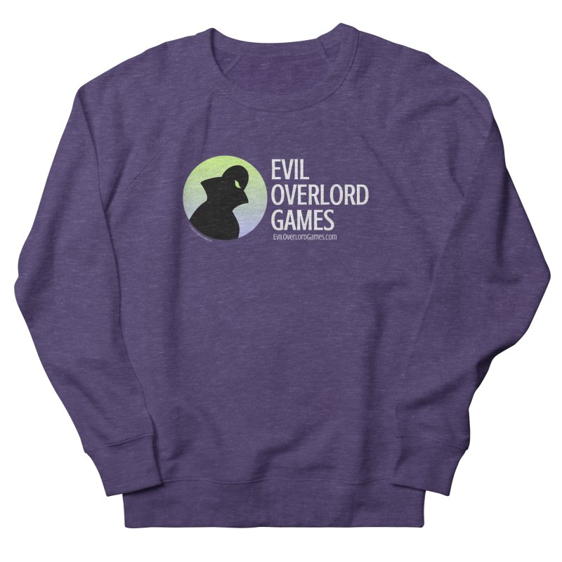 Evil Overlord logo - light Women's French Terry Sweatshirt by Evil Overlord Games - The Shop!