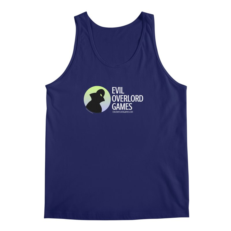 Evil Overlord logo - light Men's Regular Tank by Evil Overlord Games - The Shop!
