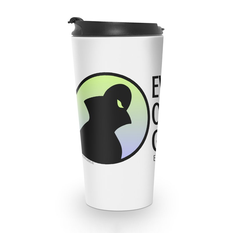 Evil Overlord logo - dark Accessories Travel Mug by Evil Overlord Games - The Shop!