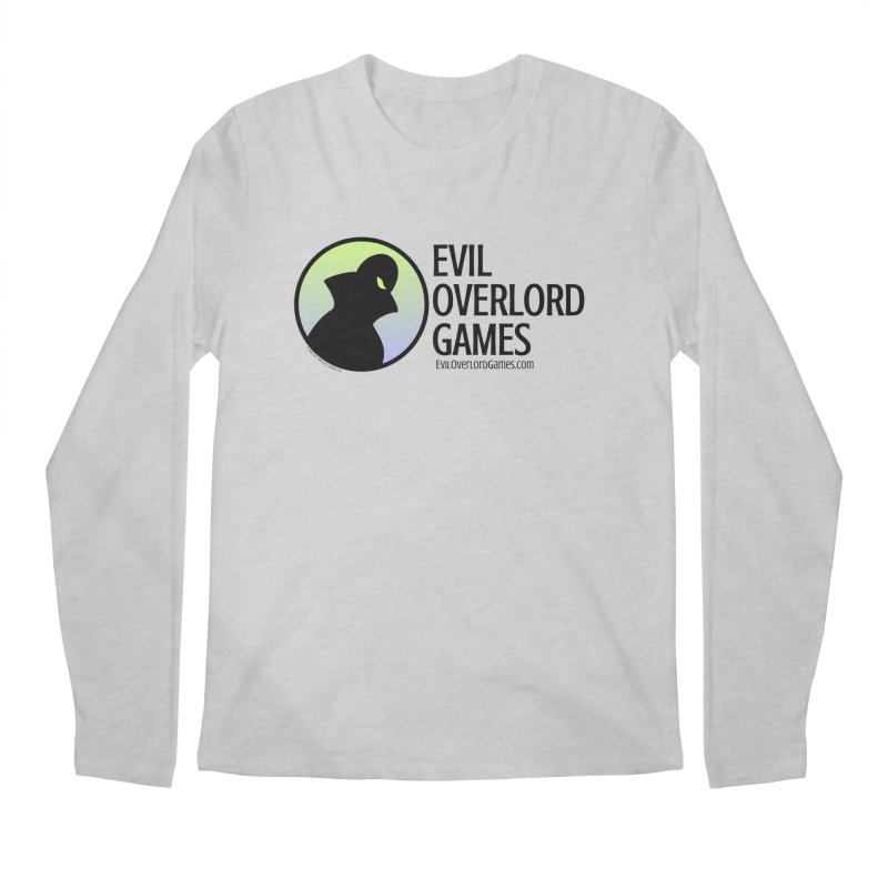 Evil Overlord logo - dark Men's Longsleeve T-Shirt by Evil Overlord Games - The Shop!