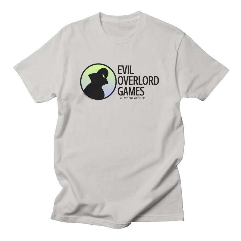 Evil Overlord logo - dark Men's T-Shirt by Evil Overlord Games - The Shop!