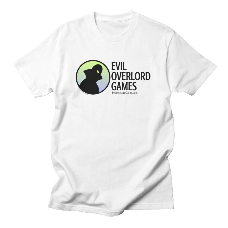Evil Overlord logo - dark Men's Regular T-Shirt by Evil Overlord Games - The Shop!