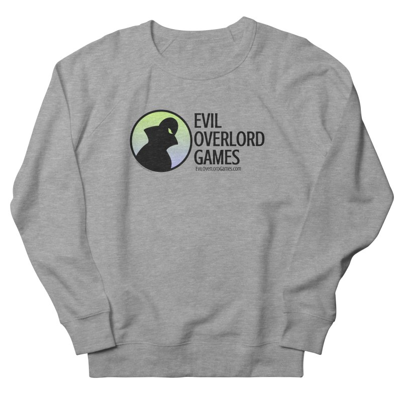 Evil Overlord logo - dark Women's French Terry Sweatshirt by Evil Overlord Games - The Shop!