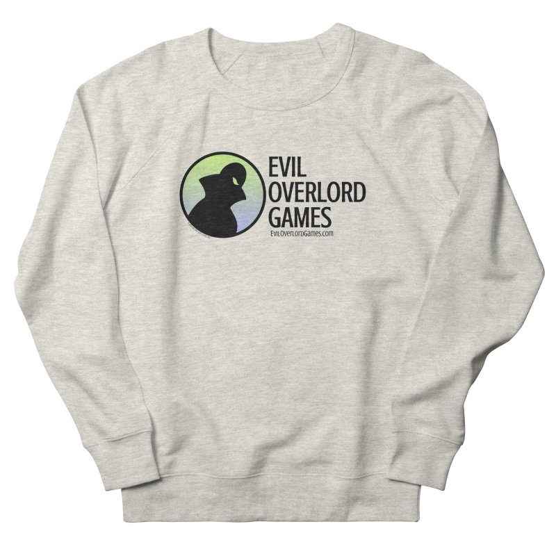 Evil Overlord logo - dark Men's French Terry Sweatshirt by Evil Overlord Games - The Shop!