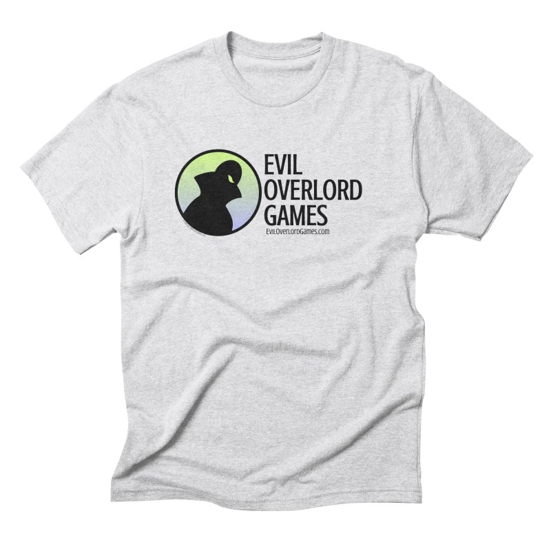Evil Overlord logo - dark Men's Triblend T-Shirt by Evil Overlord Games - The Shop!