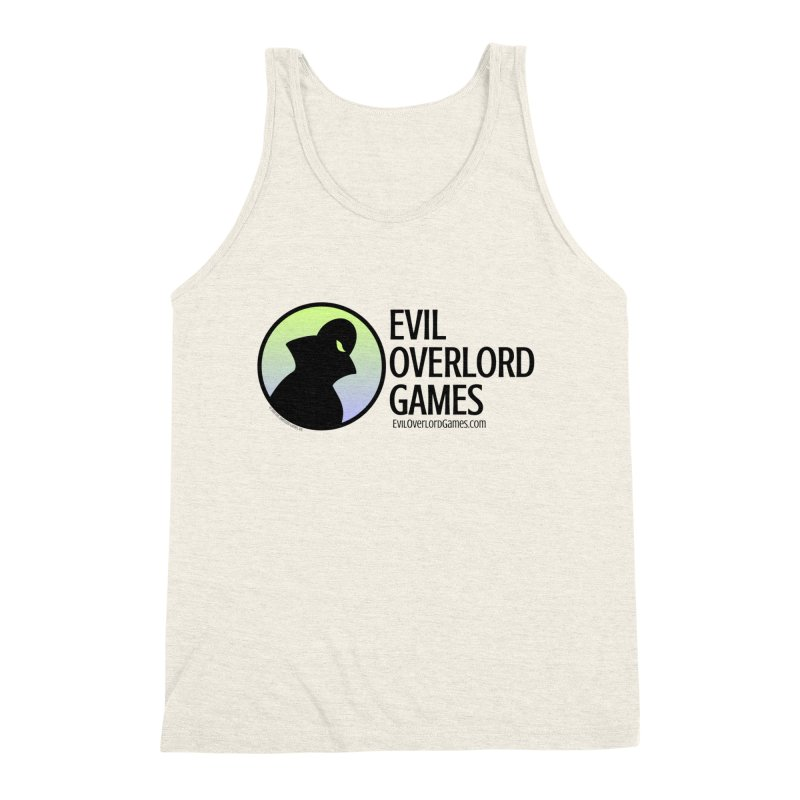 Evil Overlord logo - dark Men's Tank by Evil Overlord Games - The Shop!