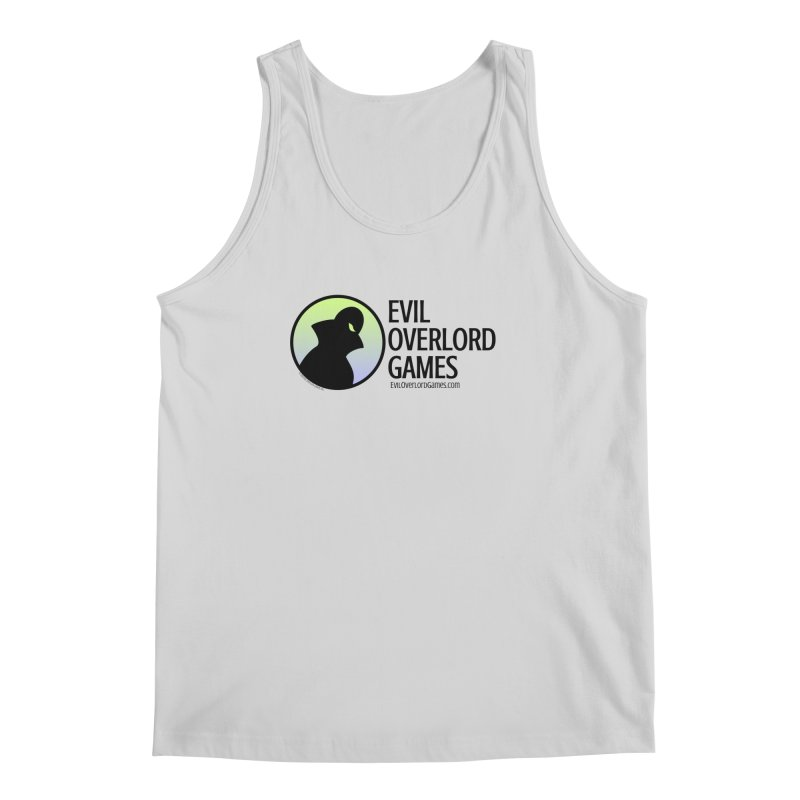 Evil Overlord logo - dark Men's Regular Tank by Evil Overlord Games - The Shop!