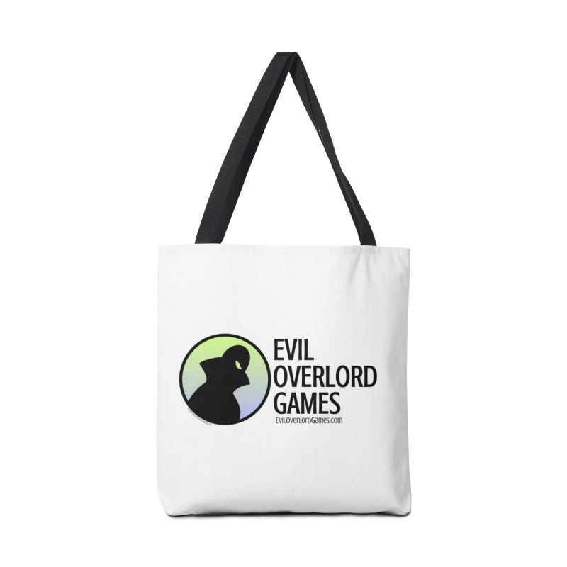 Evil Overlord logo - dark Accessories Tote Bag Bag by Evil Overlord Games - The Shop!