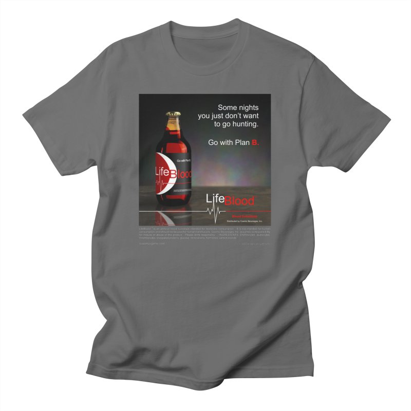 LifeBlood Ad Men's T-Shirt by Evil Overlord Games - The Shop!