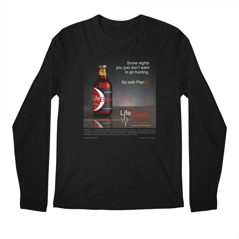 LifeBlood Ad Men's Regular Longsleeve T-Shirt by Evil Overlord Games - The Shop!