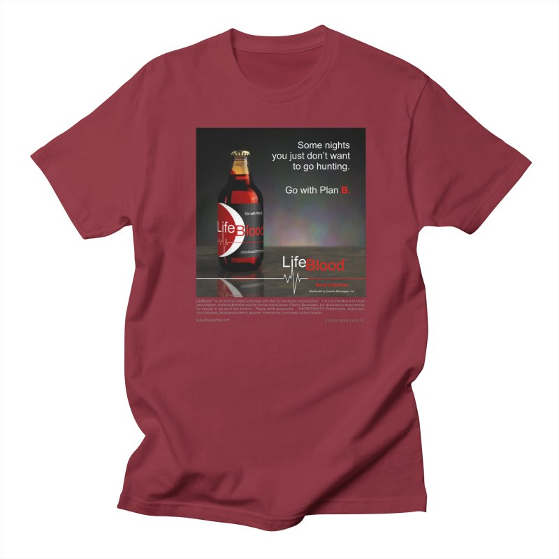 LifeBlood Ad Women's Regular Unisex T-Shirt by Evil Overlord Games - The Shop!