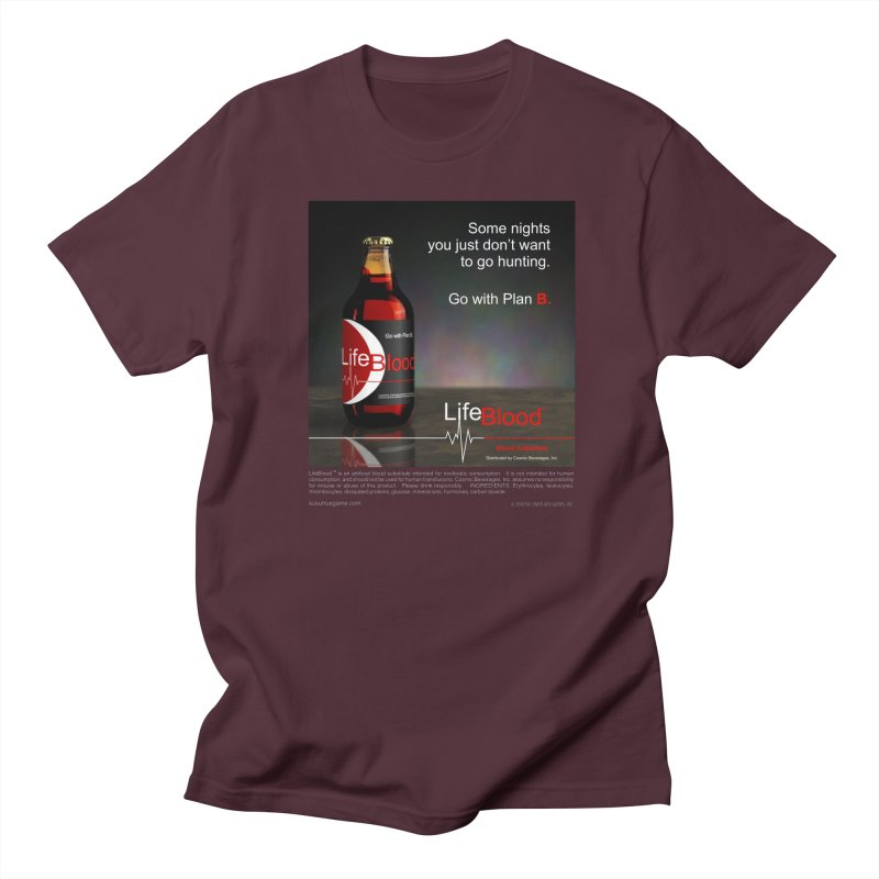 LifeBlood Ad Men's Regular T-Shirt by Evil Overlord Games - The Shop!