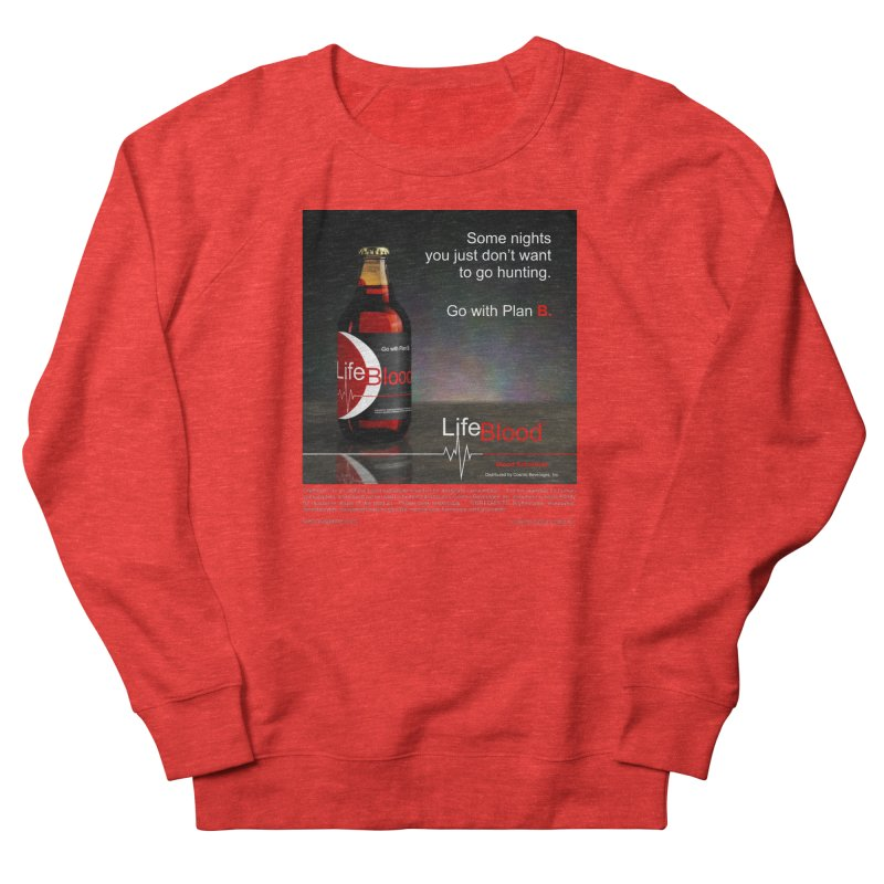 LifeBlood Ad Women's Sweatshirt by Evil Overlord Games - The Shop!