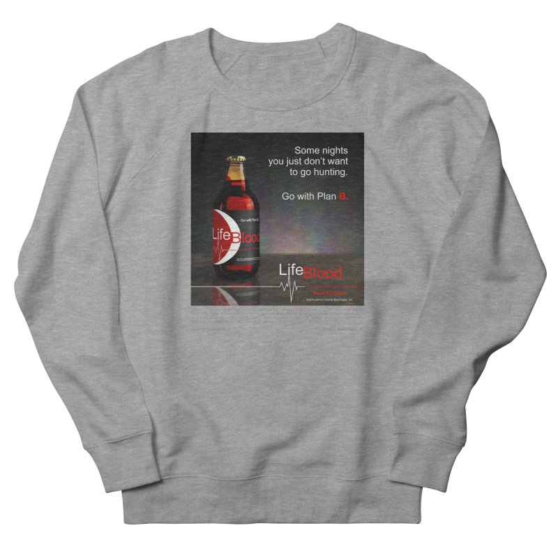 LifeBlood Ad Men's French Terry Sweatshirt by Evil Overlord Games - The Shop!