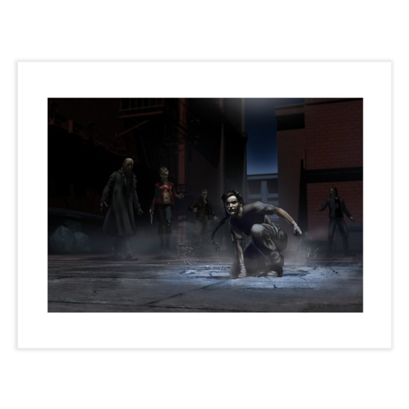 A Surprise Guest Home Fine Art Print by Evil Overlord Games - The Shop!