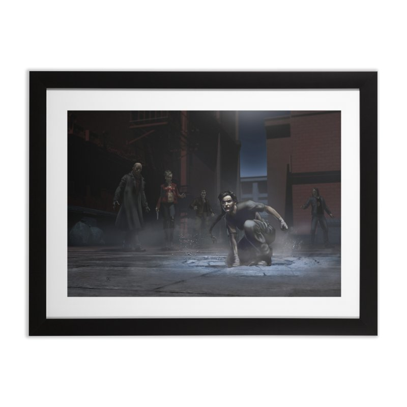 A Surprise Guest Home Framed Fine Art Print by Evil Overlord Games - The Shop!