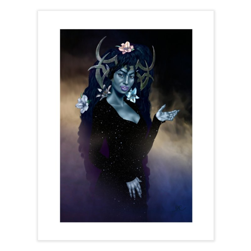 Night Fae:  Nyx Home Fine Art Print by Evil Overlord Games - The Shop!