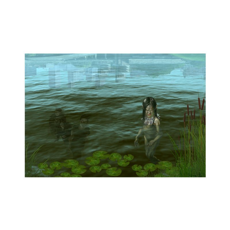 At Riverside Home Fine Art Print by Evil Overlord Games - The Shop!