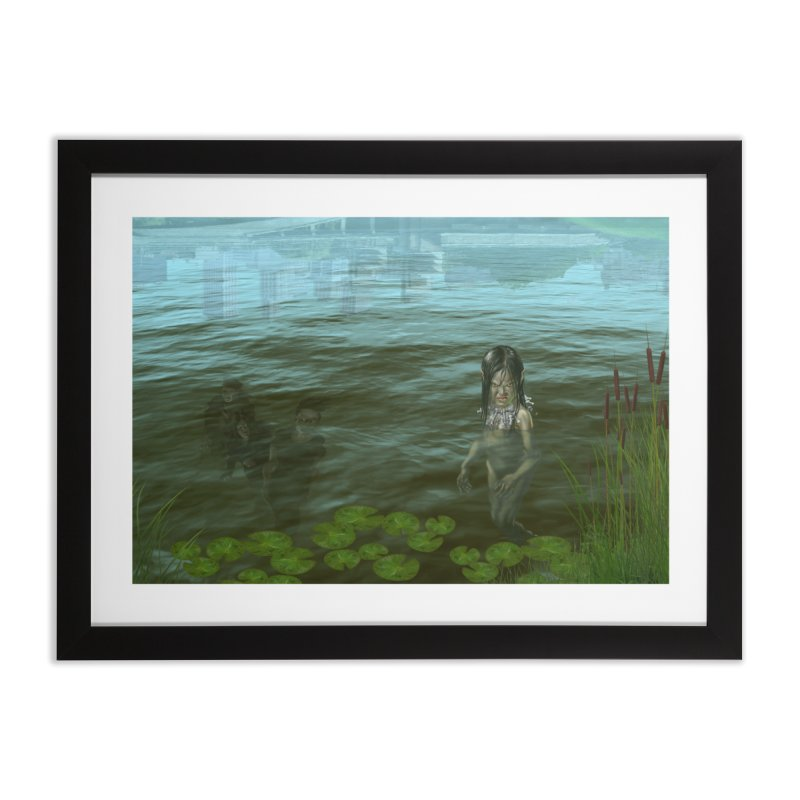 At Riverside Home Framed Fine Art Print by Evil Overlord Games - The Shop!