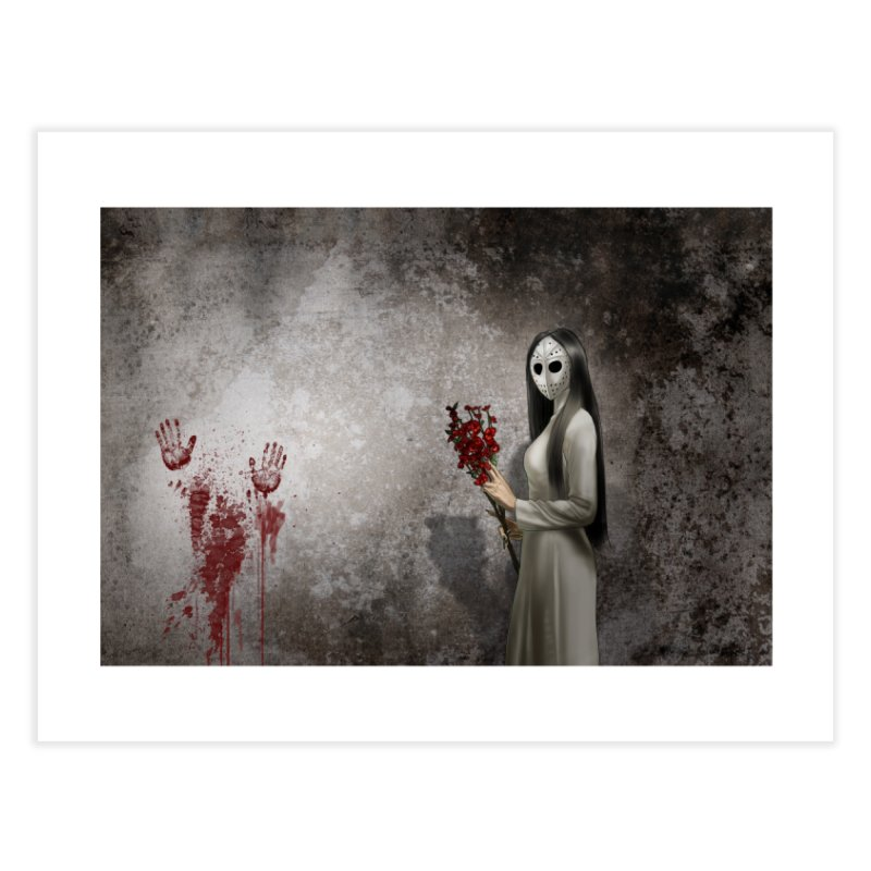 Venetian Wall: Sibella Home Fine Art Print by Evil Overlord Games - The Shop!