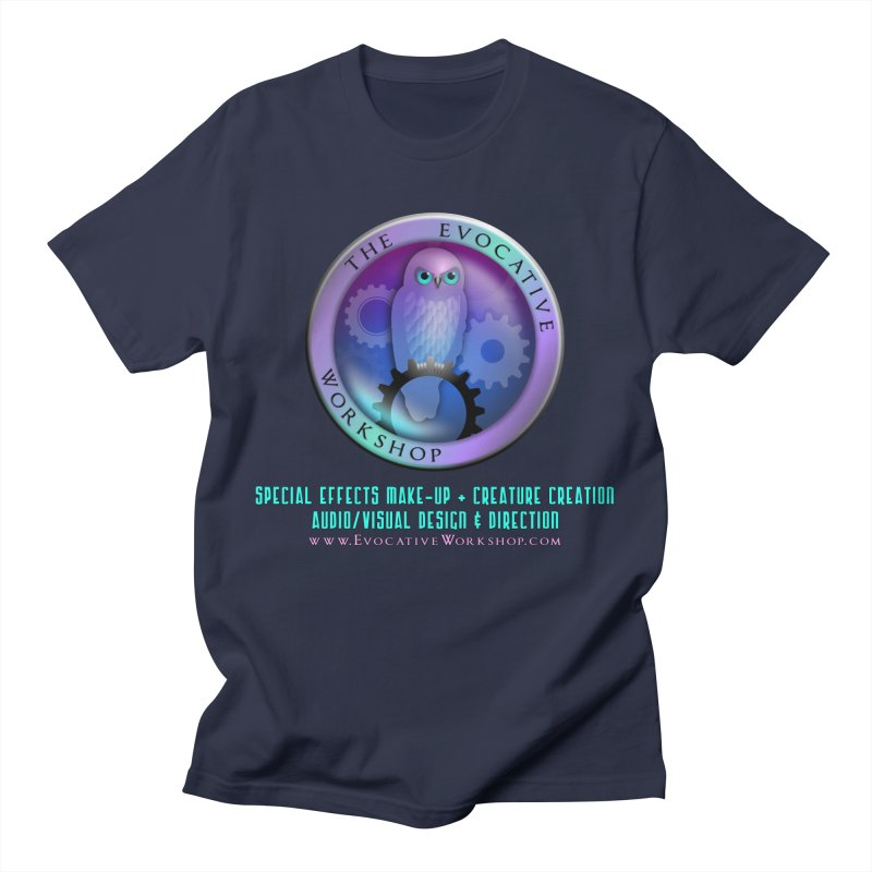 The Evocative Workshop Logo with Description Men's T-Shirt by The Evocative Workshop's SFX Art Studio Shop