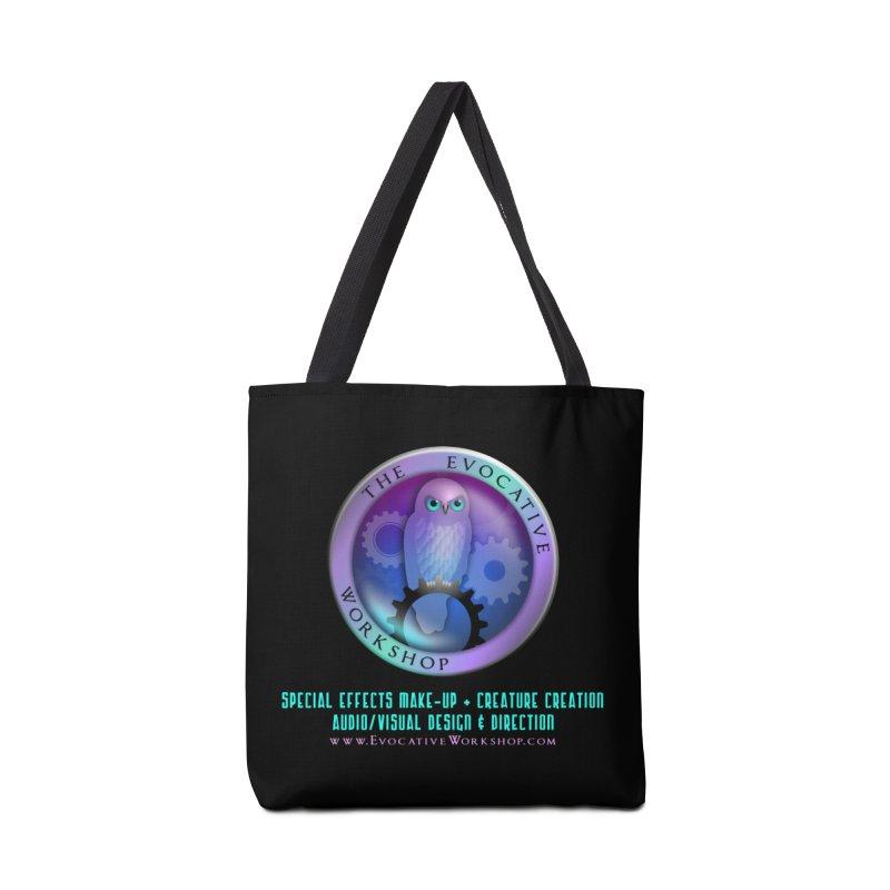 The Evocative Workshop Logo with Description Accessories Bag by The Evocative Workshop's SFX Art Studio Shop
