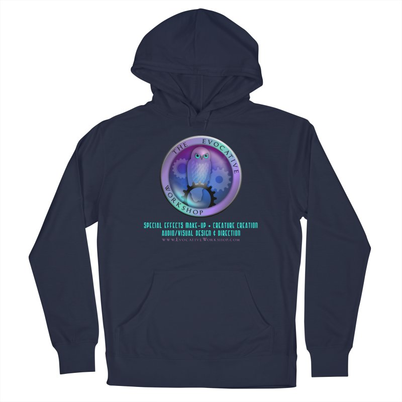 The Evocative Workshop Logo with full text Men's Pullover Hoody by The Evocative Workshop's SFX Art Studio Shop
