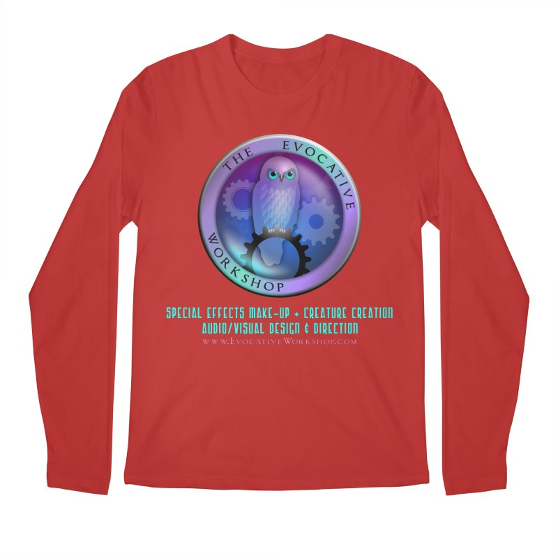 The Evocative Workshop Logo with full text Men's Longsleeve T-Shirt by The Evocative Workshop's SFX Art Studio Shop