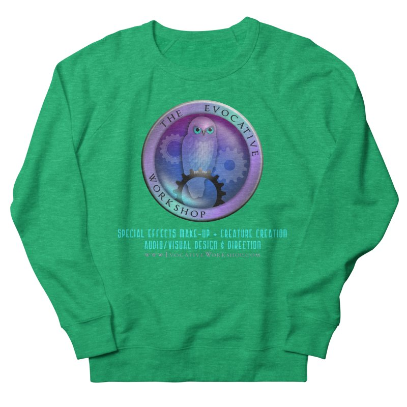 The Evocative Workshop Logo with full text Women's Sweatshirt by The Evocative Workshop's SFX Art Studio Shop