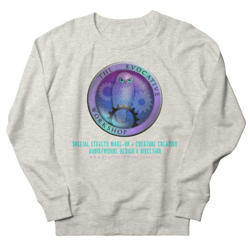 The Evocative Workshop Logo with full text Men's Sweatshirt by The Evocative Workshop's SFX Art Studio Shop