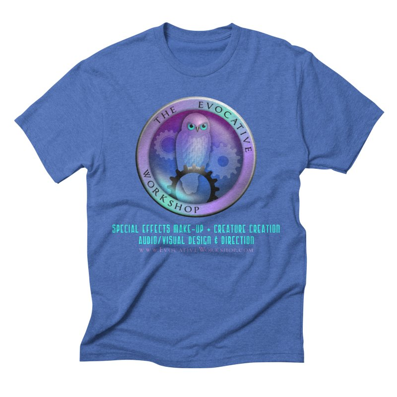 The Evocative Workshop Logo with full text Men's T-Shirt by The Evocative Workshop's SFX Art Studio Shop