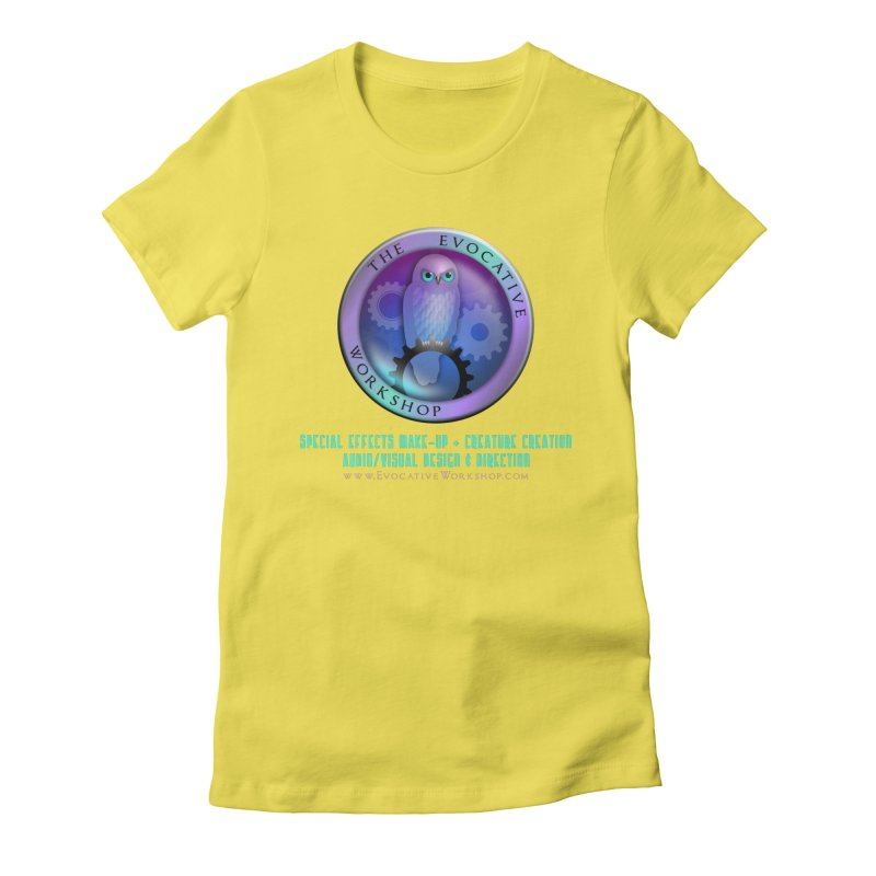 The Evocative Workshop Logo with full text Women's T-Shirt by The Evocative Workshop's SFX Art Studio Shop