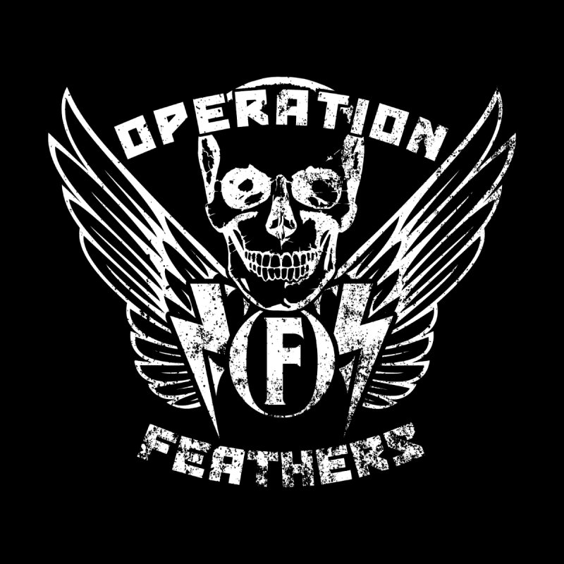 Operation Feathers Logo - Distressed White Men's Tank by The Evocative Workshop's SFX Art Studio Shop