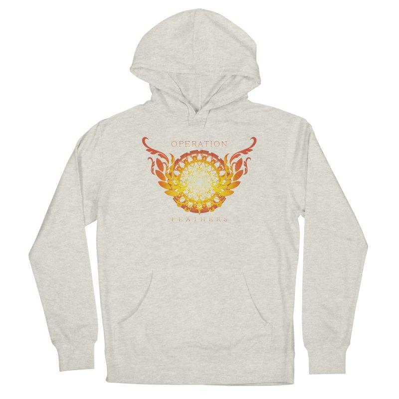 O.F. Mandala of Power - Orange Sunburst Women's Pullover Hoody by The Evocative Workshop's SFX Art Studio Shop